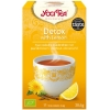 Yogi Tea detox with lemon thee