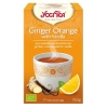 Yogi Tea ginger orange vanilla thee