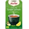 Yogi Tea green tea ginger lemon thee