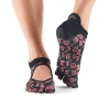 toesox ballerina grip roses M