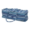 yogatas hummer blauw gestreept
